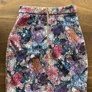 H&M Skirts - H&M printed pencil skirt